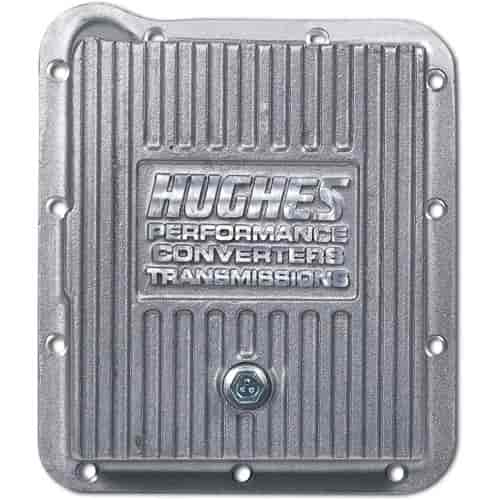 Hughes Performance Aluminum Transmission Pan Ford E4OD/4R100