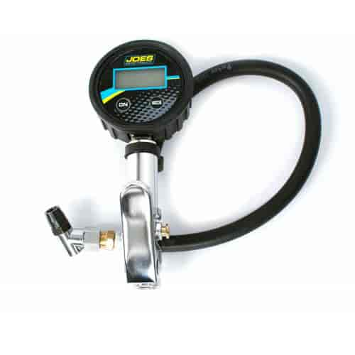 JOES Racing Products 32489: Digital Tire Pressure Gauge w/ Quick Fill Valve | JEGS