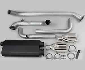 Hooker Headers 16822 - Hooker Headers Street Force Cat-Back Exhaust Systems