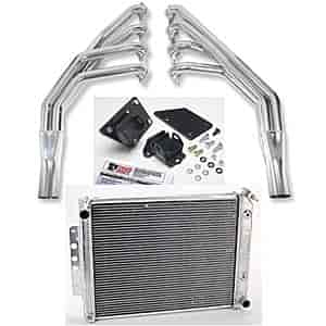 Hooker Headers 2288-1K - JEGS/Trans Dapt/Hooker Headers LS Engine Swap Kit - 1967-69 Camaro/Firebird