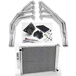 Hooker Headers 2288-1K3 - JEGS/Trans Dapt/Hooker Headers LS Engine Swap Kit - 1967-69 Camaro/Firebird
