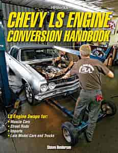 HP Books 1-557-885661 - HP Books Chevy LS Engine Conversion Handbook HP1566