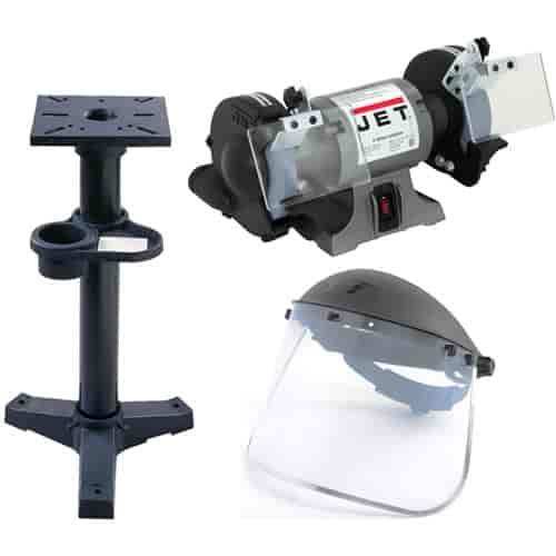 Jet Tools 577101k 6 Shop Bench Grinder Kit Jegs
