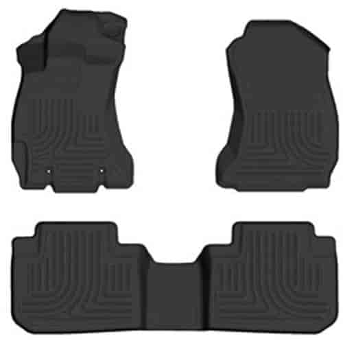 husky liners 99881 weather beater floor liners 2014 16. Black Bedroom Furniture Sets. Home Design Ideas