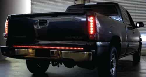 Ipcw ledb 60r 60in led tailgate light bar running brake hazard ipcw ledb 60r 60in led tailgate light bar running brake hazard turn and reverse lights jegs mozeypictures Image collections