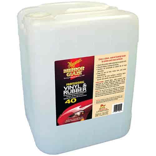 Meguiar S M4005 M40 Mirror Glaze Vinyl And Rubber Cleaner