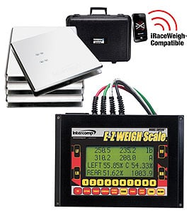 Intercomp 170130 - Intercomp SW500 E-Z Weigh Kart Scales