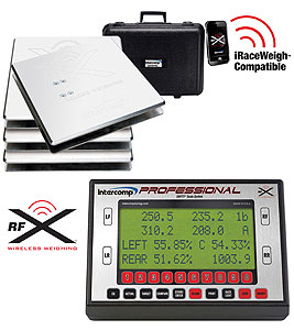 Intercomp 170183 - Intercomp SW777RFX Professional Wireless Kart Scale System