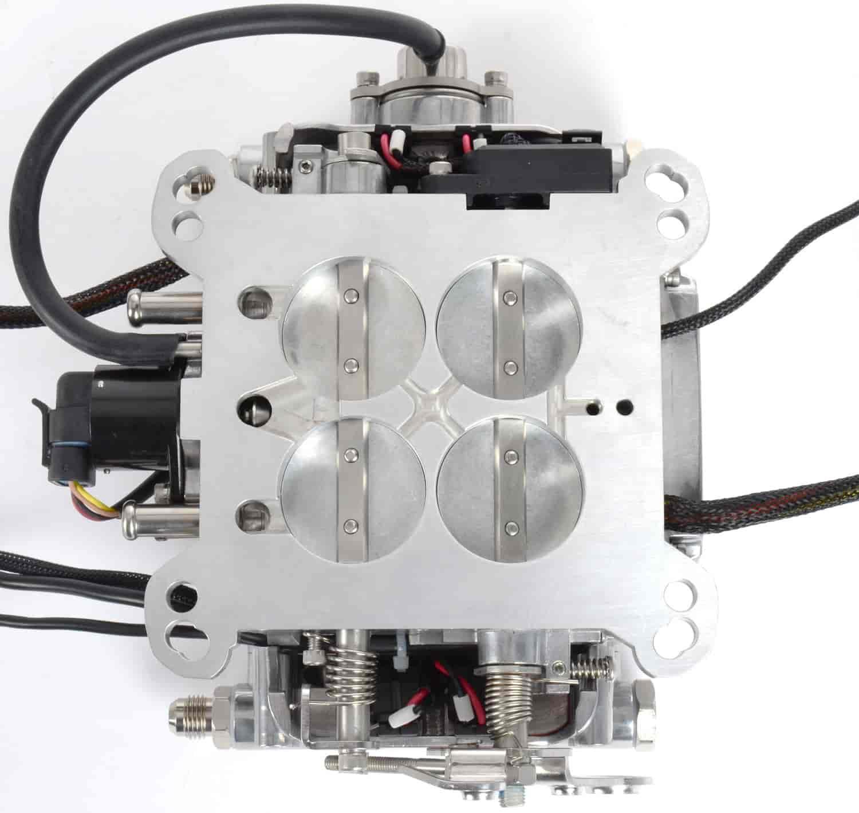 fitech fuel injection 30001 go efi 4 throttle body basic system 600 hp ebay. Black Bedroom Furniture Sets. Home Design Ideas