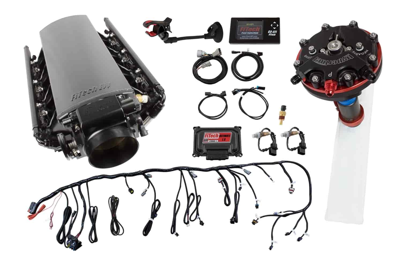 Details about FITech Fuel Injection 70002K1 Ultimate LS EFI Induction  System LS1/LS2/LS6 500 H
