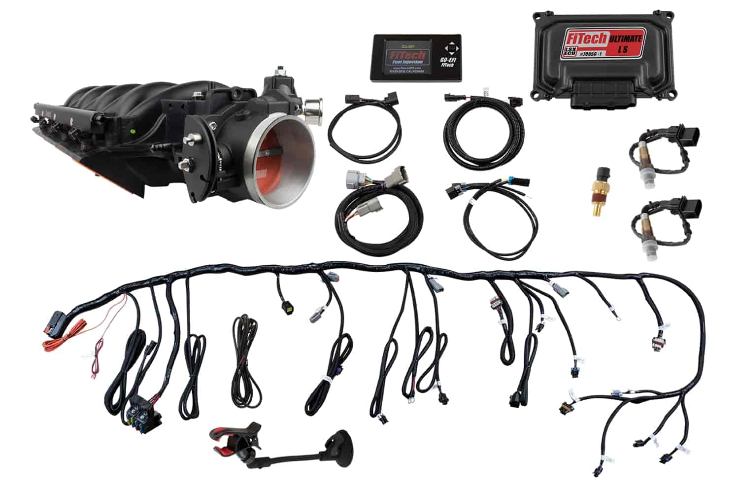 FITech Fuel Injection Ultimate LS EFI Fuel Injection System LS Torque Plus  Cathedral 600 HP