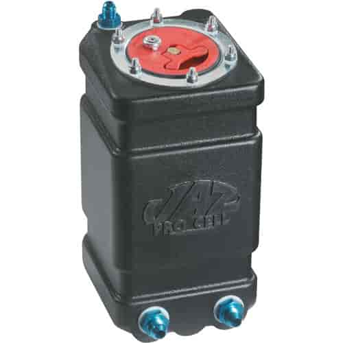 JSD M051 14 Gallon Top Feed Polished Aluminum Gas Fuel Cell Tank Cuboid Overall 30-1//2 x 12-1//4 x 9-1//2