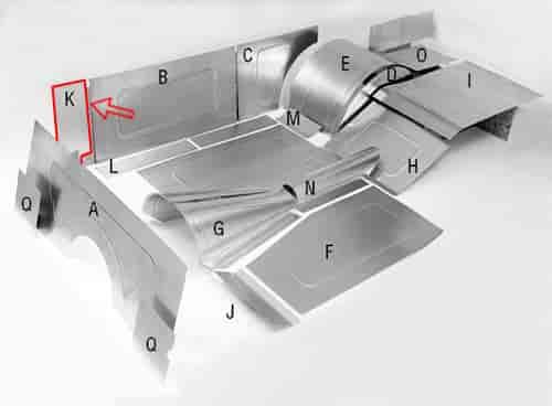 Aluminum interior kits