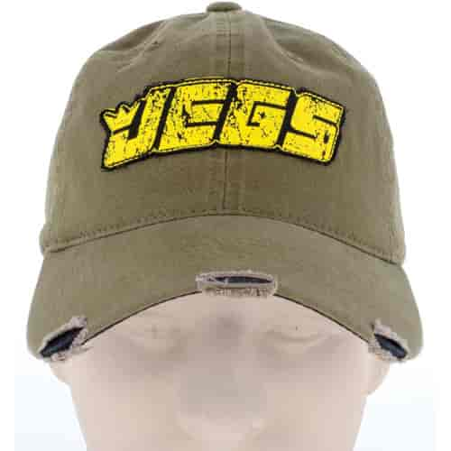 JEGS 003200 - JEGS Distressed Hat