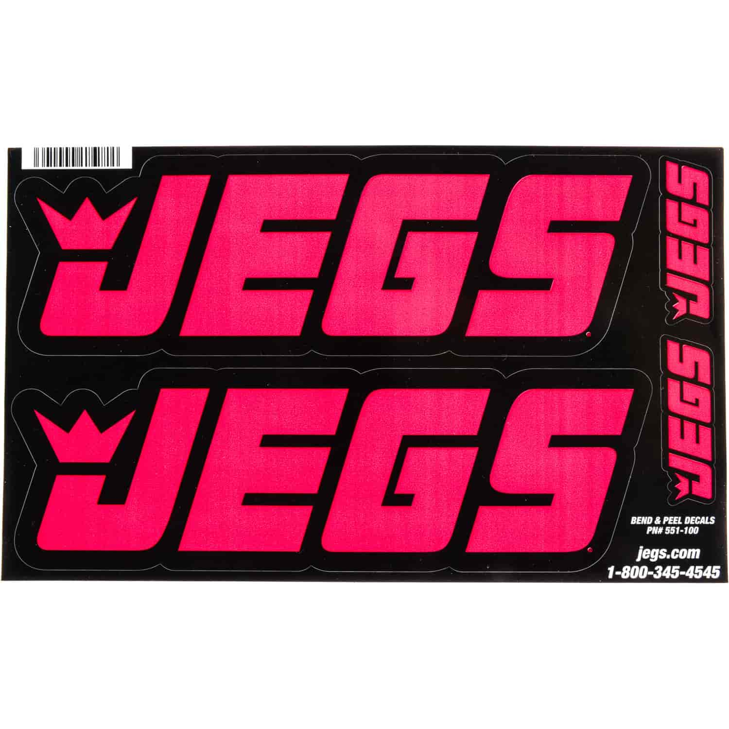 JEGS Apparel and Collectibles 100P