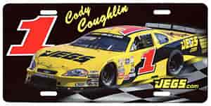 JEGS 70 - JEGS Cody Coughlin License Plates