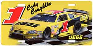 JEGS 71 - JEGS Cody Coughlin License Plates
