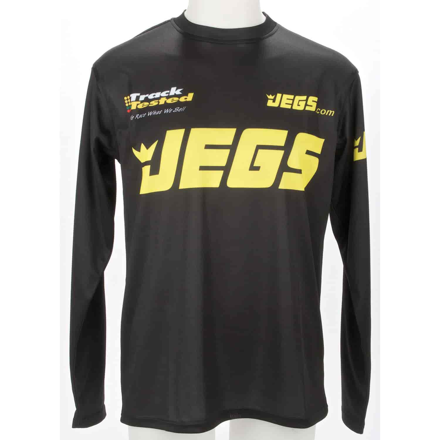 JEGS 7703 - JEGS Race Team Sublimated Long Sleeve T-Shirt