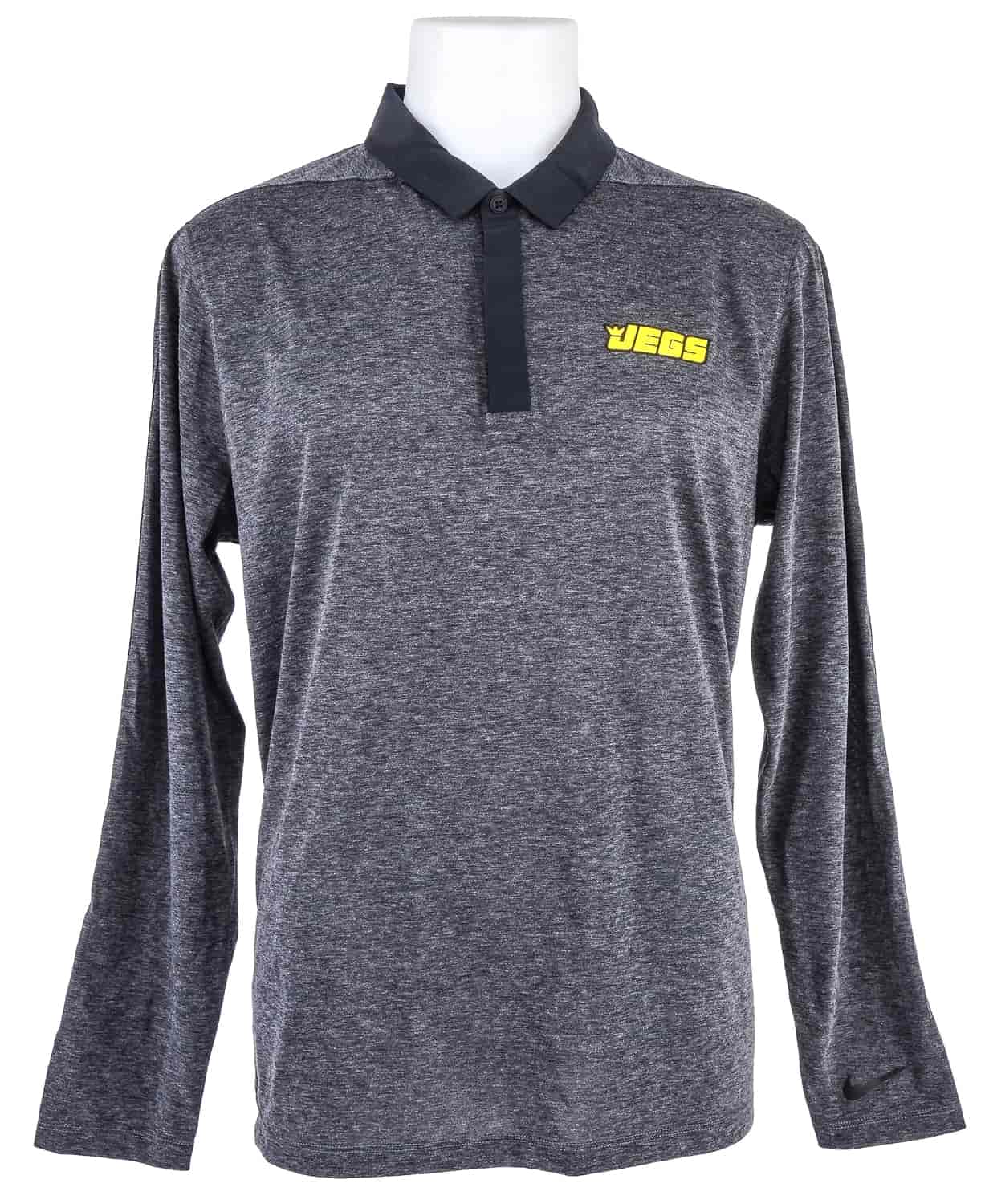 a6b57a3e JEGS Men's Nike Dri-Fit Long Sleeve Polo | JEGS Apparel and Collectibles