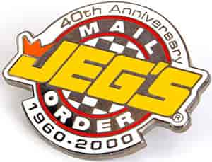 JEGS LP40TH - JEGS 40th Anniversary Pin