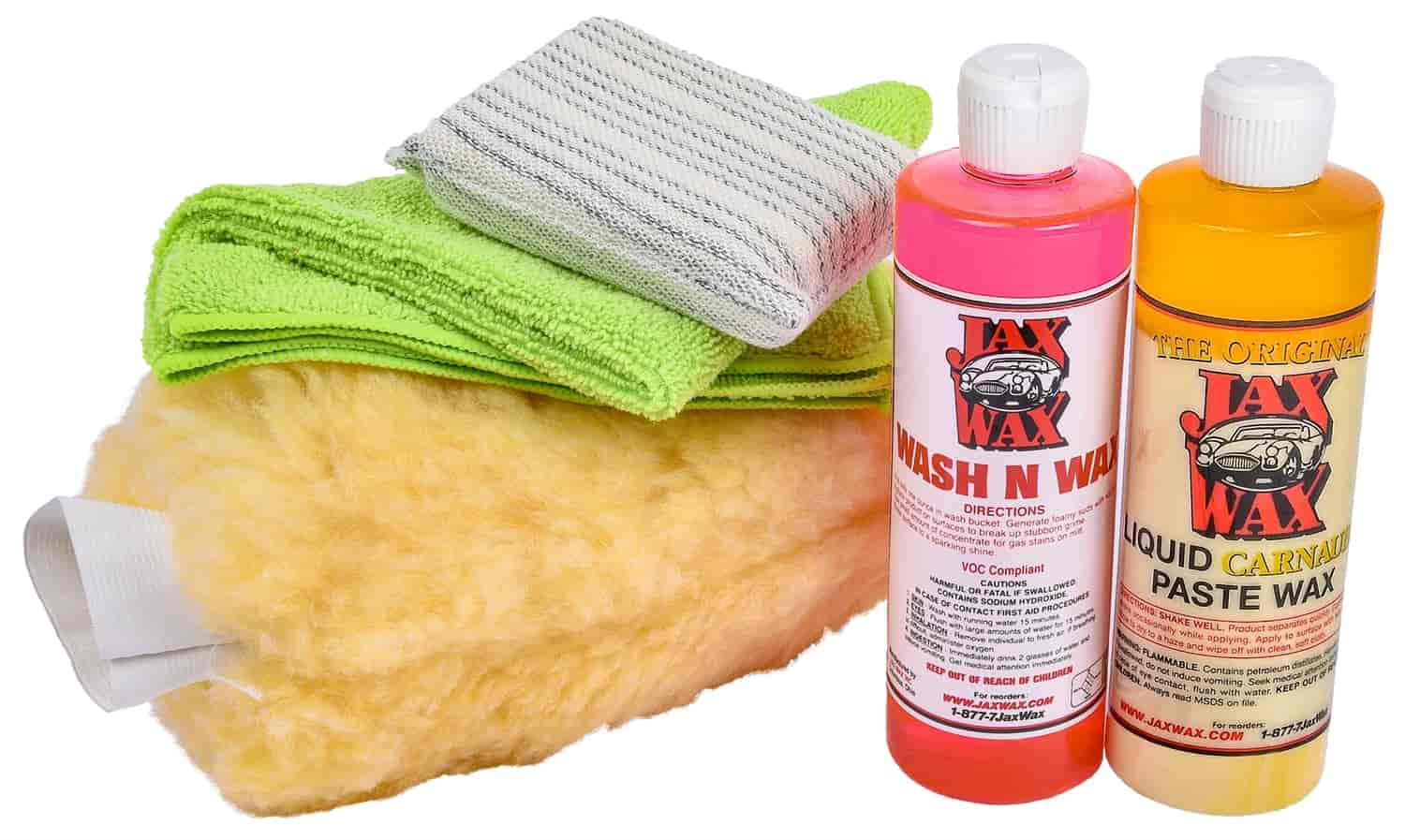 Jax Wax JWKCB1 - Jax Wax Exterior Wash & Detail Kits