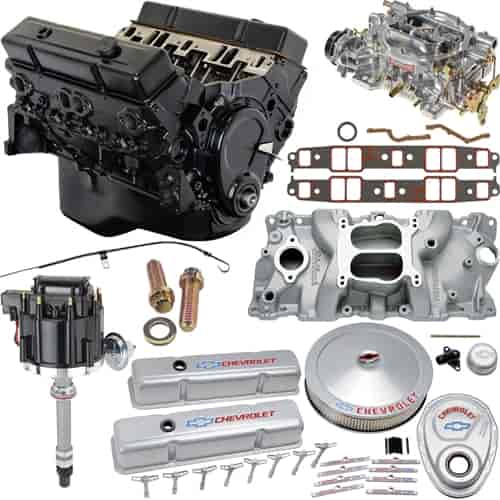 JEGS Small Block Chevy 350ci Crate Engine Kit