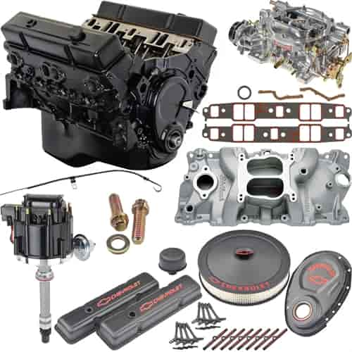 Jegs crate engine reviews automotivegarage jegs performance products 7353k5 small block chevy 350ci crate malvernweather Choice Image