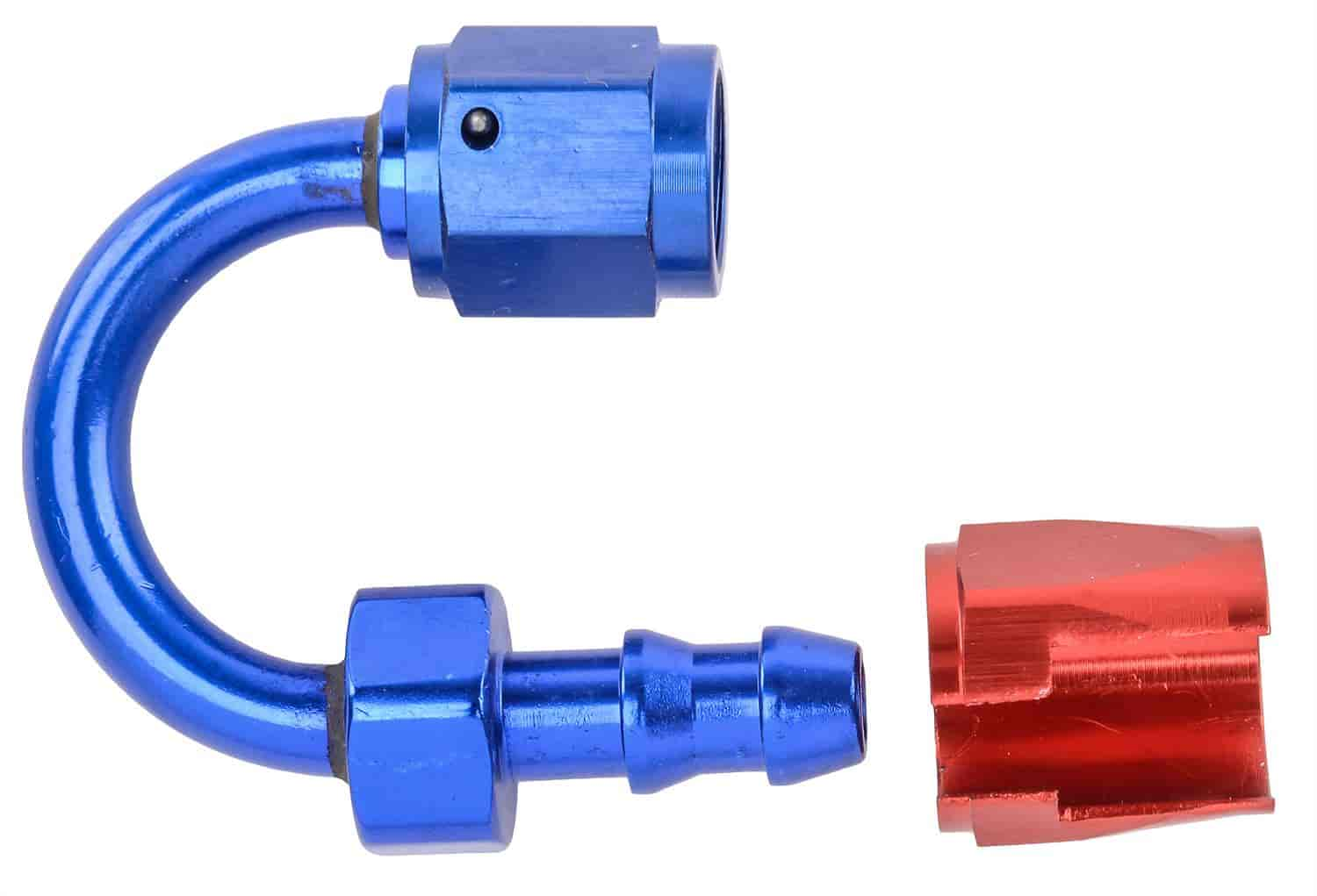JEGS Performance Products 100080 - JEGS AN Push-Loc Hose End Fittings - Blue