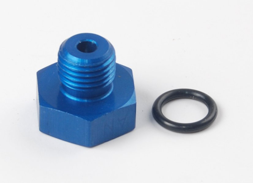 JEGS Performance Products 100350 - JEGS AN Straight Thread Port Plugs