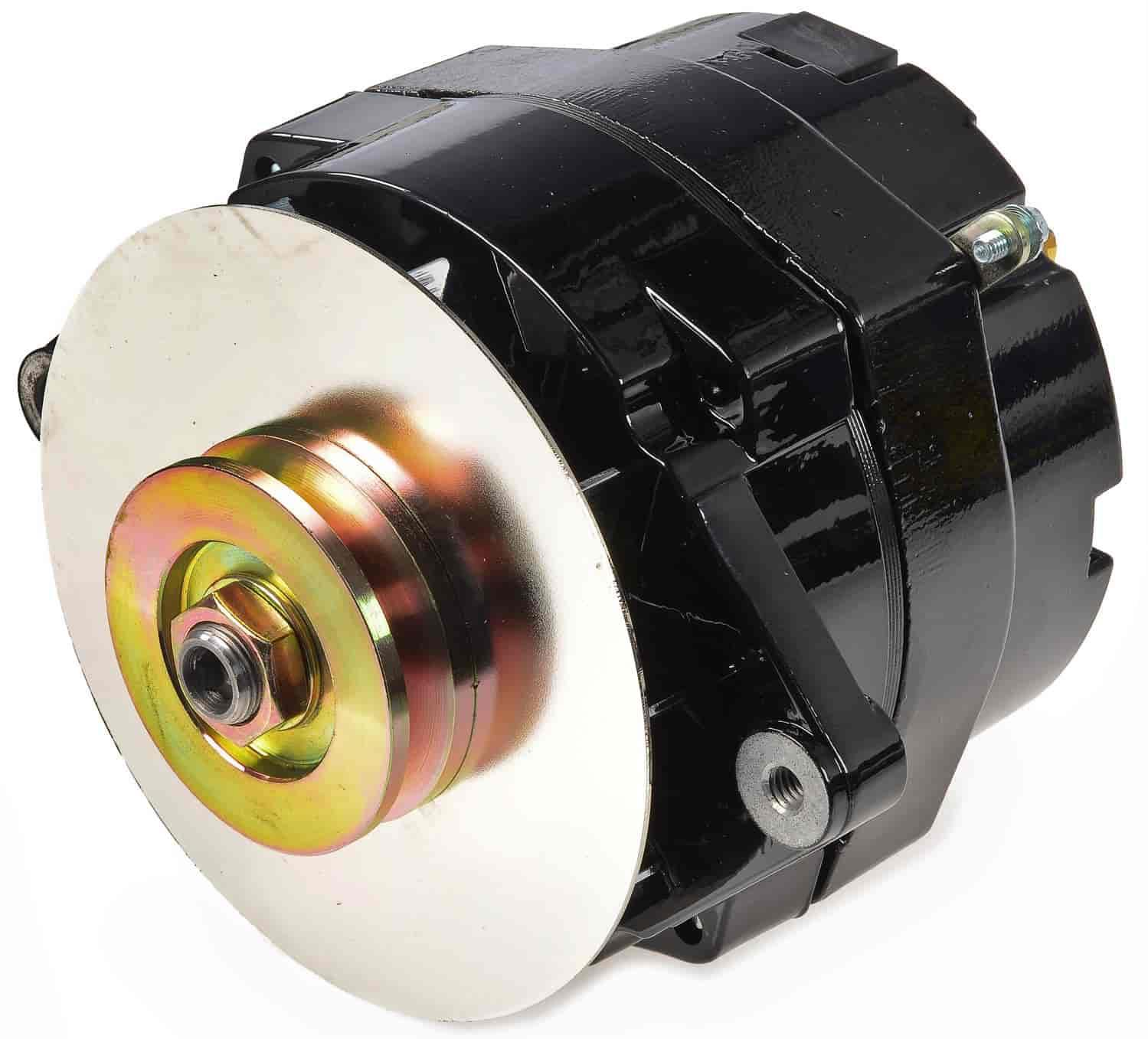 jegs 10120 black 1 wire gm alternator 100 amps jegsjegs black 1 wire gm alternator 100 amps jegs 10120