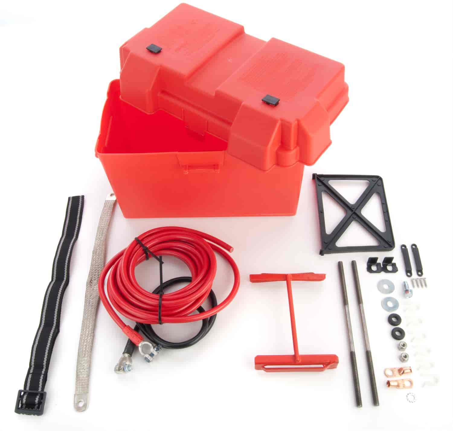 JEGS Performance Products 10270 - JEGS Battery Box and Box Kits