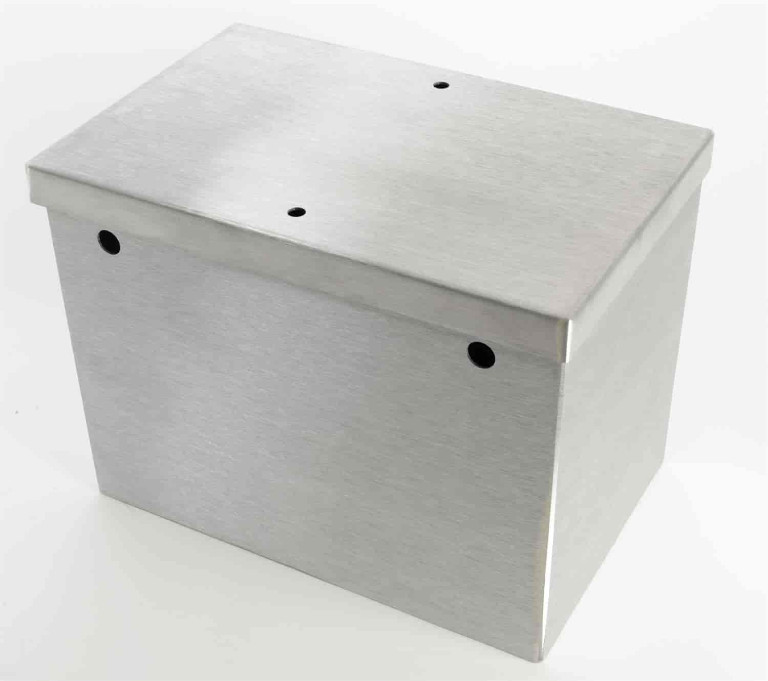 JEGS Performance Products 10282 - JEGS Aluminum Battery Boxes