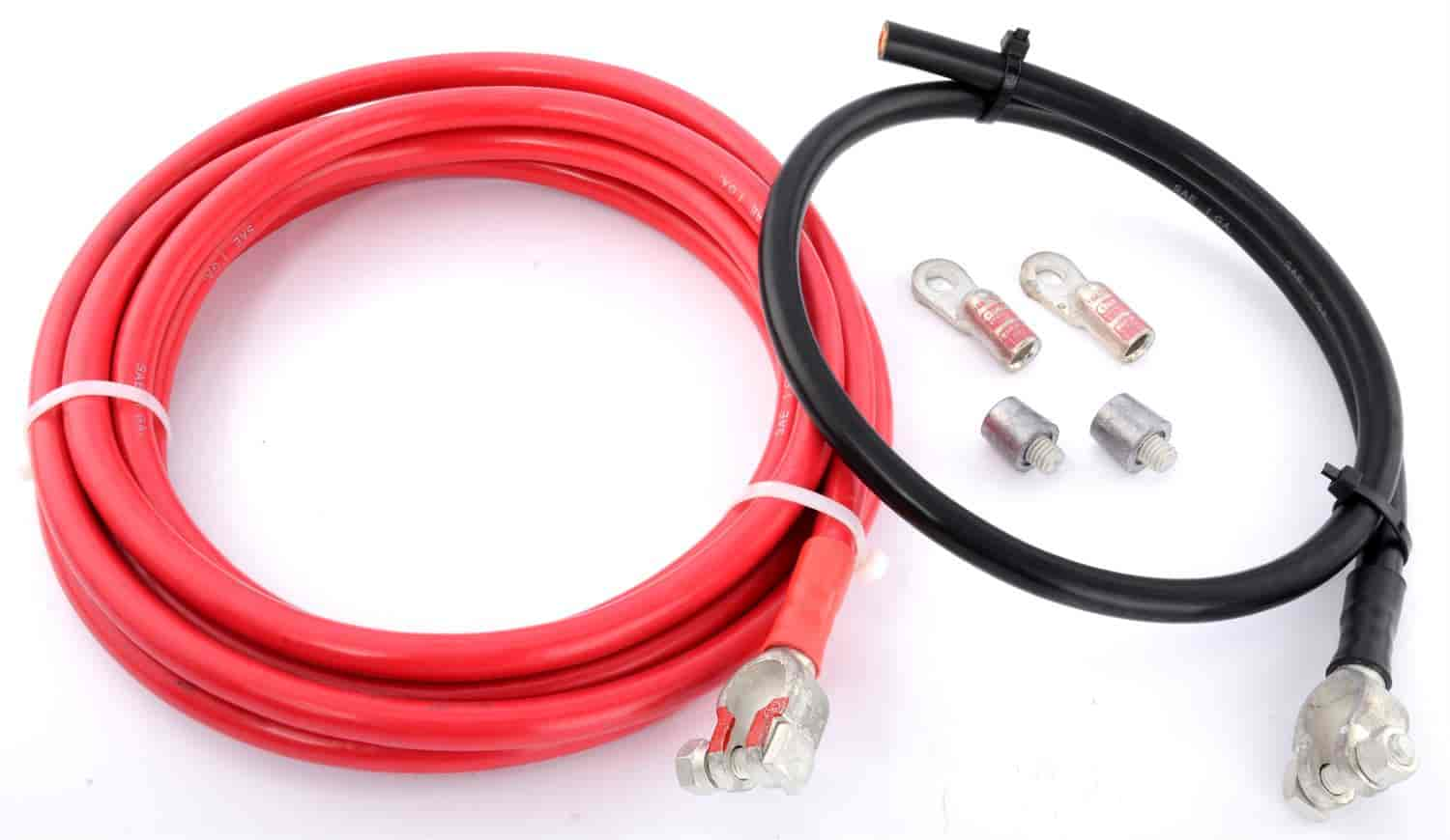 JEGS Performance Products 10291 - JEGS Remote Battery Cable Kit