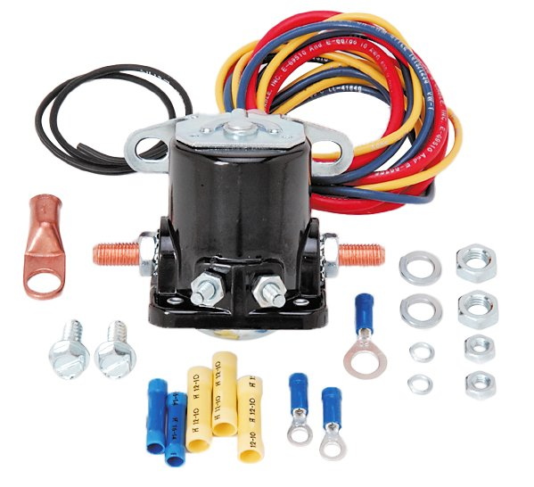 JEGS Performance Products 10301 - JEGS Remote Starter Solenoid Kit