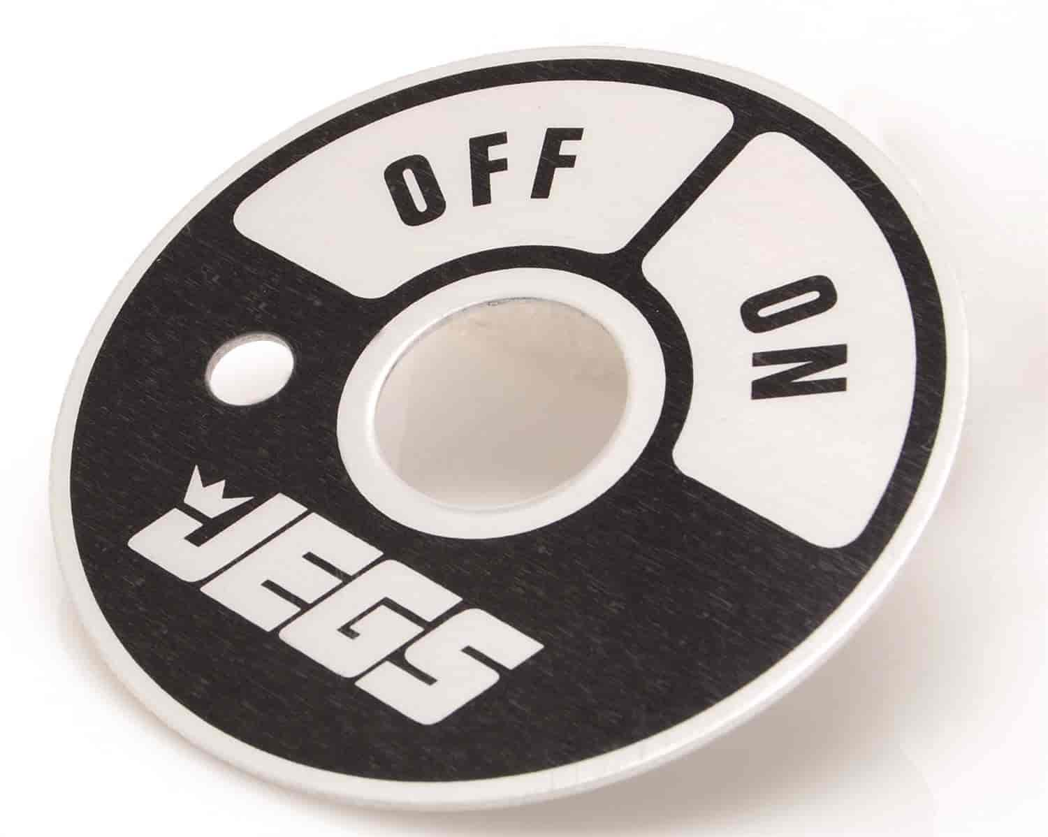 JEGS Performance Products 10306 - JEGS Push-Pull Disconnect Switches