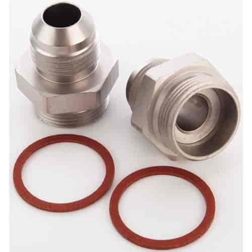 JEGS Performance Products 105501 - JEGS Carburetor Fuel Inlet AN Fittings