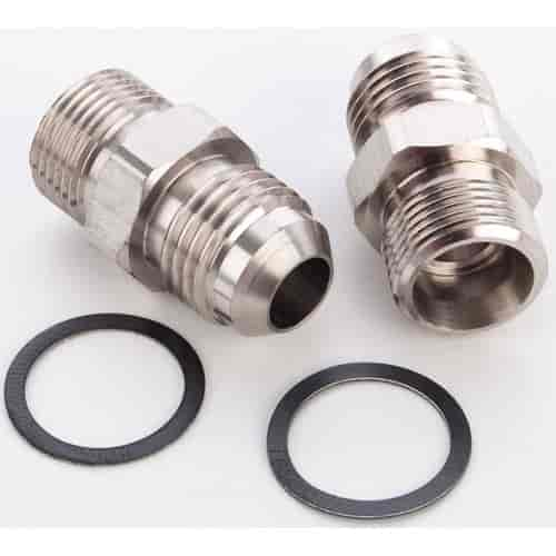 JEGS Performance Products 105503 - JEGS Carburetor Fuel Inlet AN Fittings