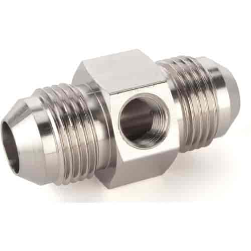 JEGS Performance Products 105521 - JEGS Fuel Pressure Gauge In-Line Adapter Fittings