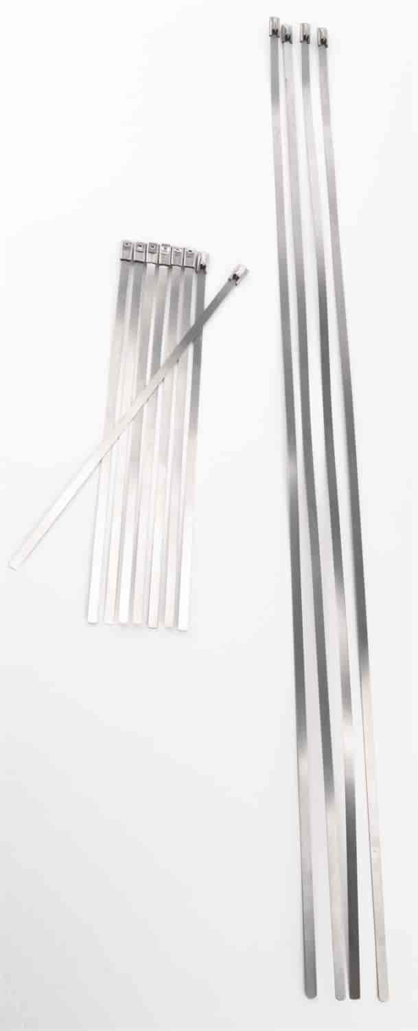 JEGS Performance Products 10629 - JEGS Stainless Wire and Cable Ties