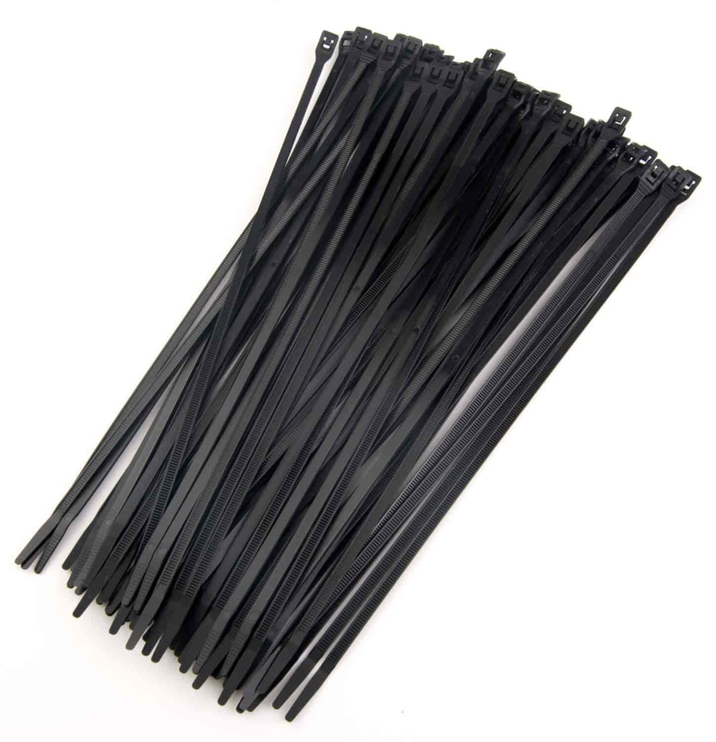 JEGS Performance Products 10671 - JEGS Low-Profile Wire and Cable Ties