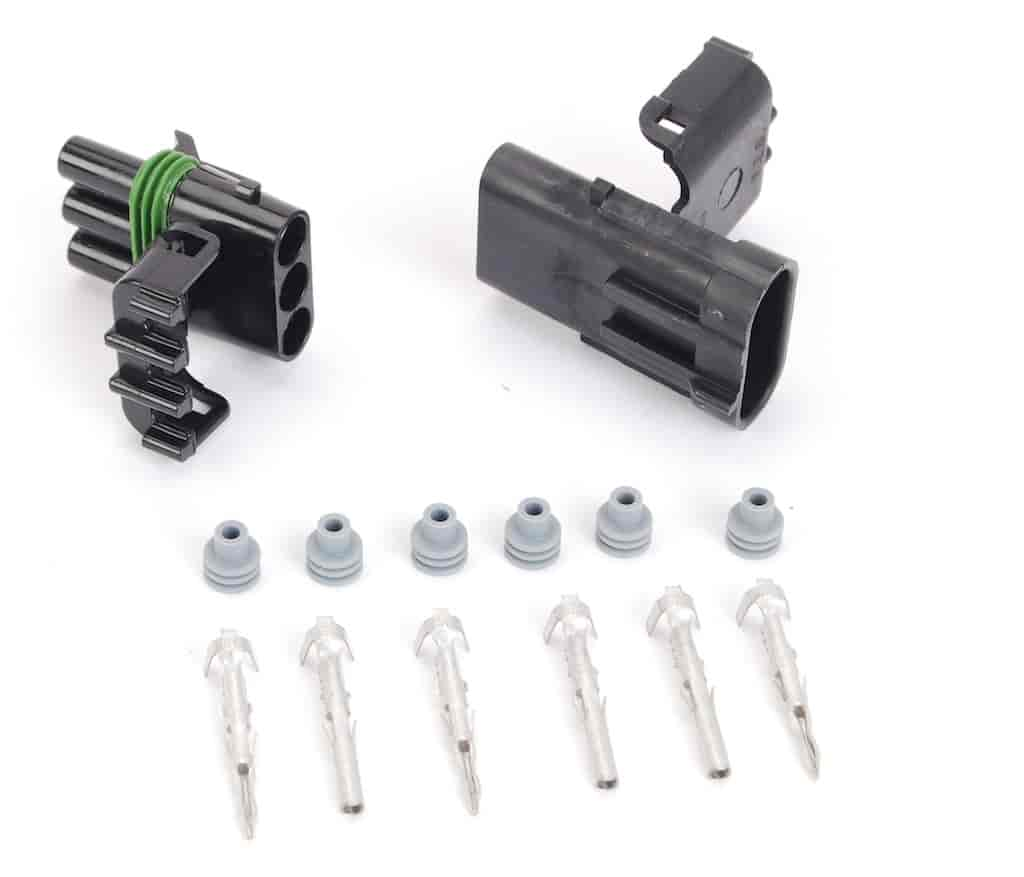 JEGS Performance Products 10762 - JEGS Weatherpack Connectors