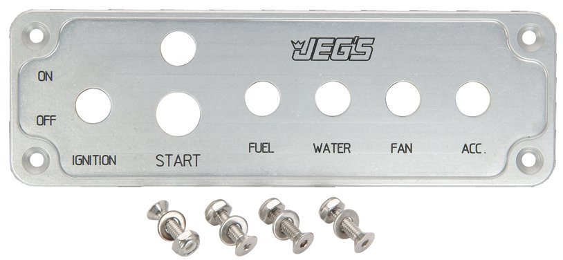 JEGS Performance Products 11010 - JEGS Ignition and Switch Panels