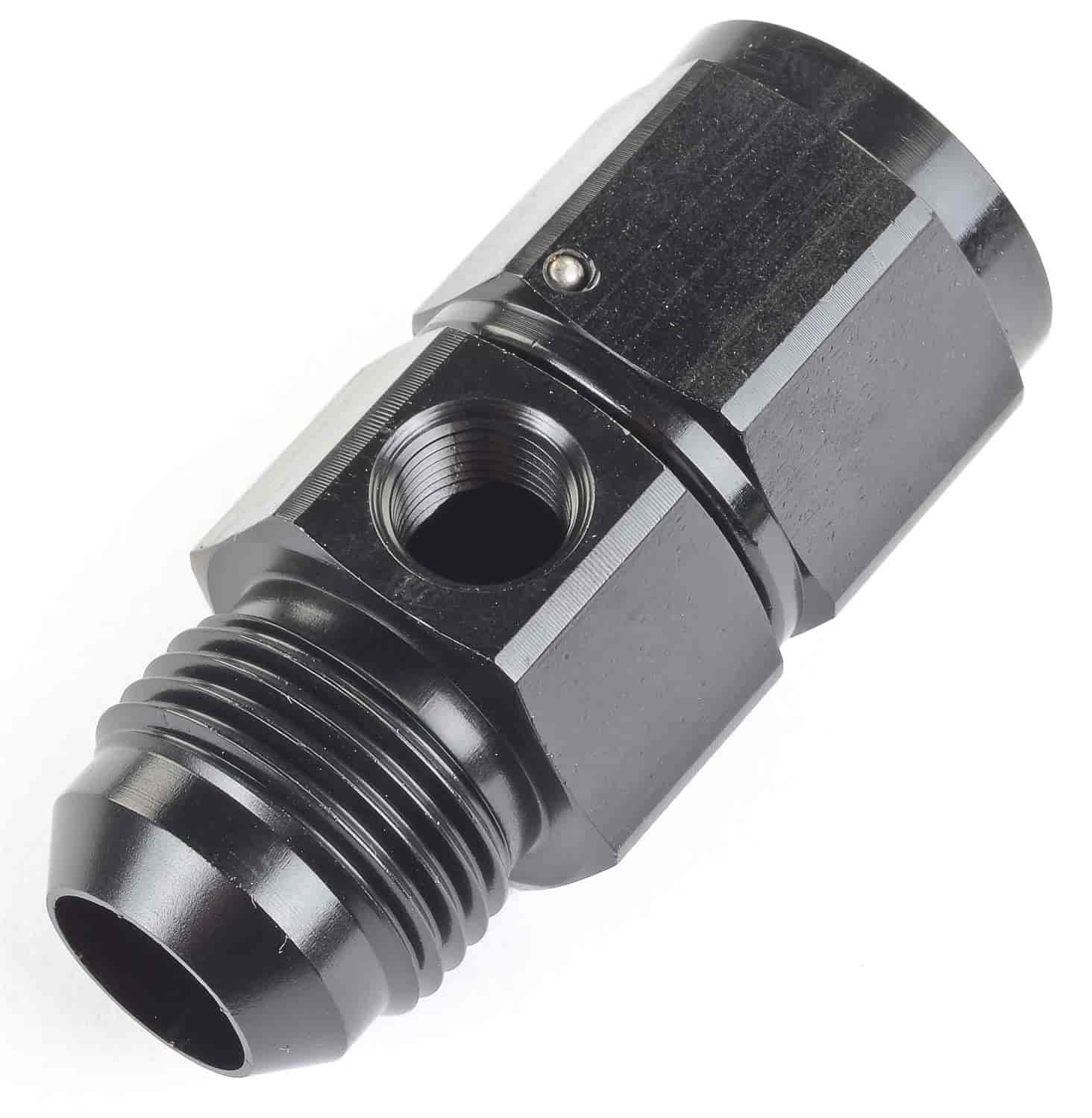 JEGS Performance Products 110530 - JEGS Fuel Pressure Gauge In-Line Adapter Fittings