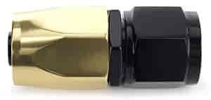 JEGS Performance Products 112002 - JEGS AN Hose End Fittings - Gold/Black Elite Series