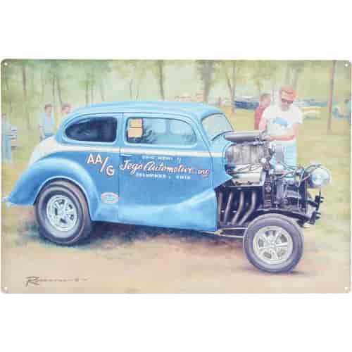 JEGS Performance Products 1310 - JEGS Garage, Trailer and Office Art