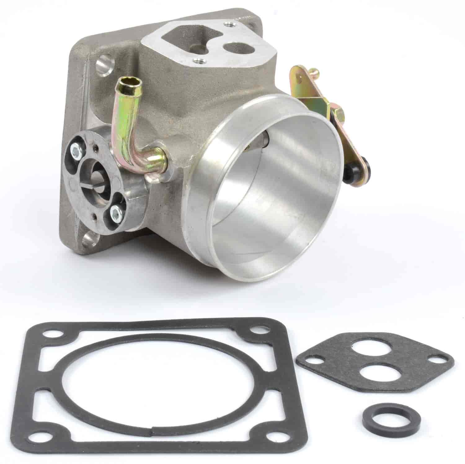 Jegs 14512 75mm Throttle Body For 1986 1993 Ford Mustang 50l 5 0 Carb Wiring Harness