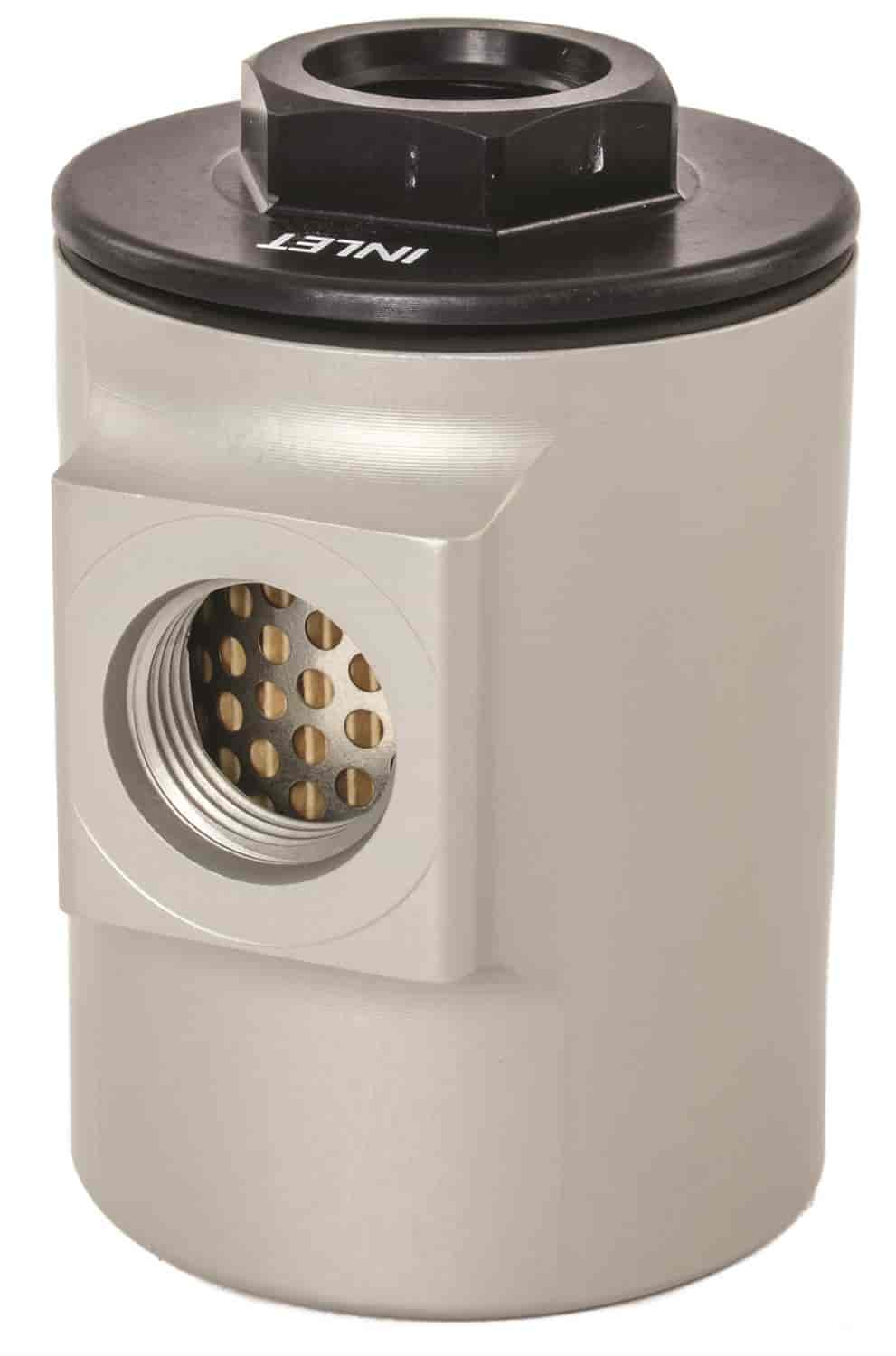 JEGS Performance Products 150050 - JEGS 90� Compact Fuel Filter