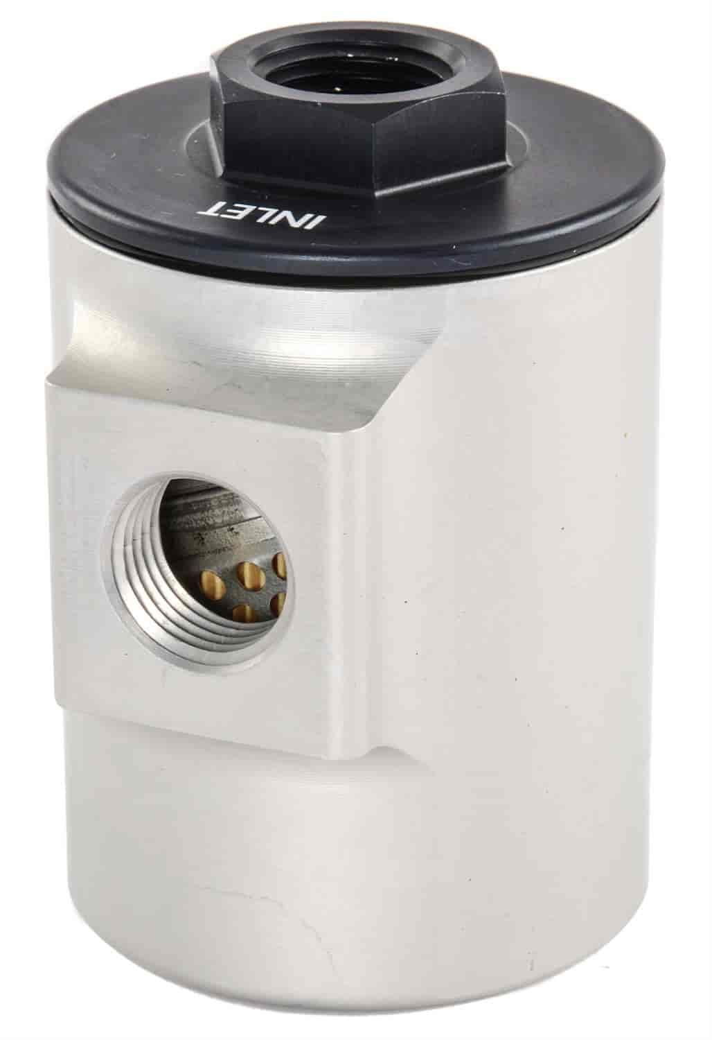 JEGS Performance Products 150052 - JEGS 90� Compact Fuel Filter