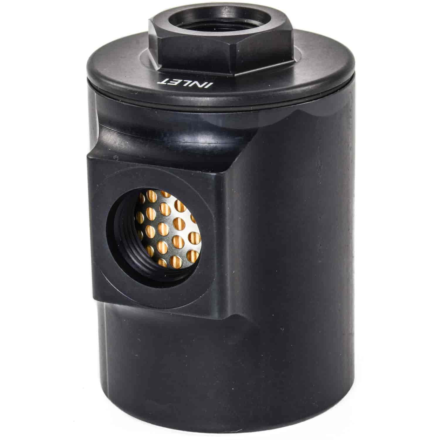JEGS Performance Products 150054 - JEGS 90� Compact Fuel Filter