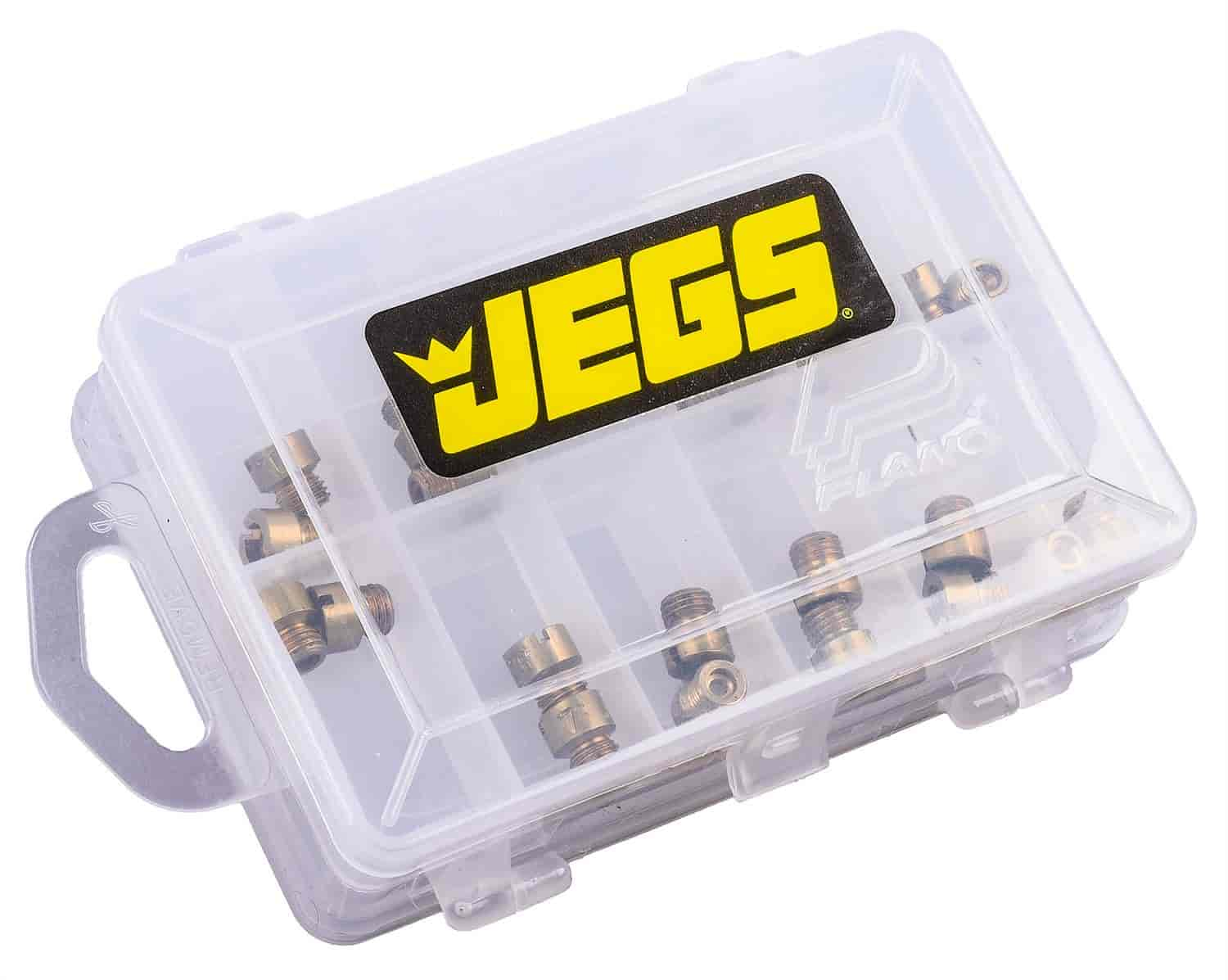 JEGS Performance Products 15023 - JEGS Holley� Jet Kit with Case